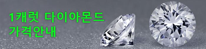 1캐럿다이아몬드 가격 안내