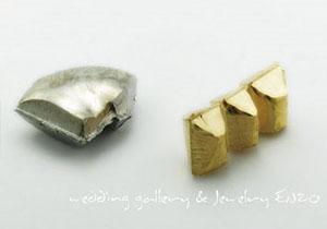 백금과 순금사진